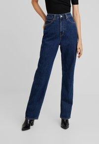 Weekday - ROWE WIN - Straight leg jeans - win blue - 0