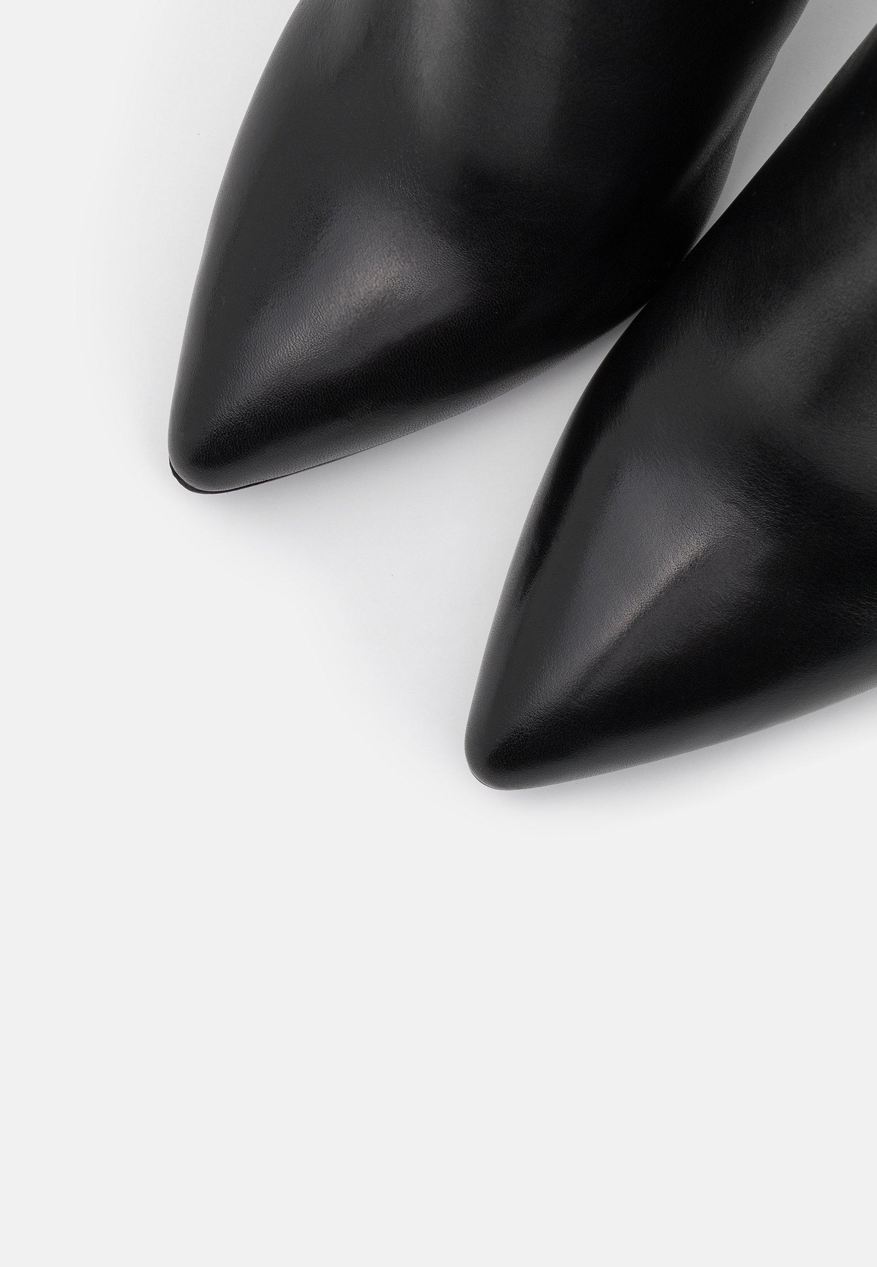 Tamaris Heart & Sole Boots - Botki Na Obcasie Black