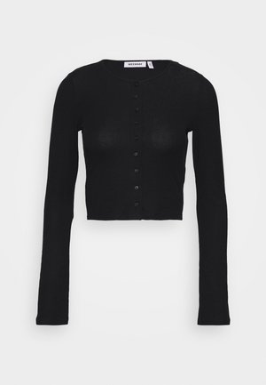 MINERVA LONG SLEEVE - Cardigan - black