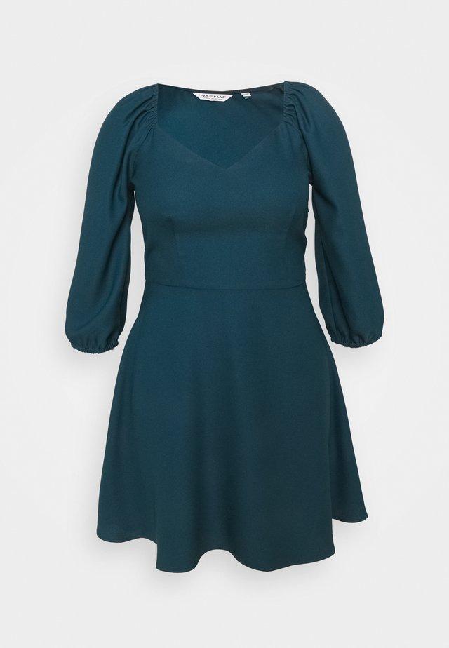 EMARINE - Vestito estivo - duck blue