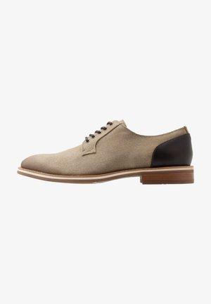 LEGEICIEN - Šněrovací boty - khaki