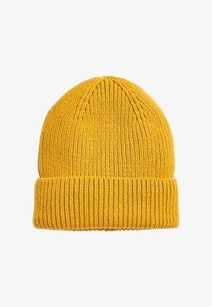 RIB - Beanie - yellow
