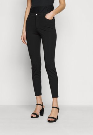 5 pockets PUNTO trousers - Pantalones - black