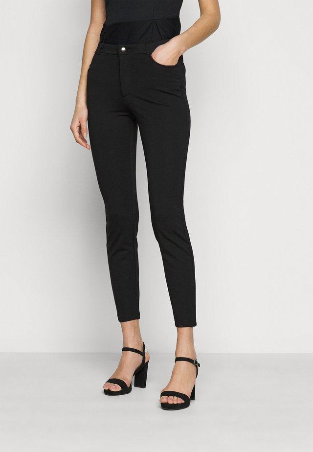 5 pockets PUNTO trousers - Kalhoty - black