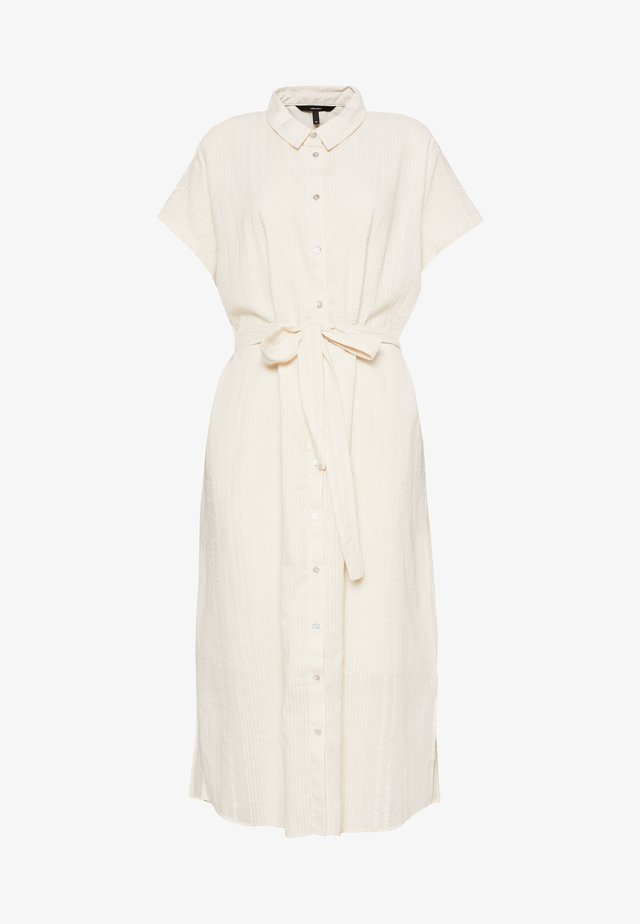 VMNAJA CALF DRESS - Robe chemise - birch