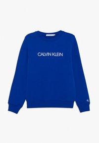 Calvin Klein Jeans - INSTITUTIONAL LOGO  - Sweater - blue - 0