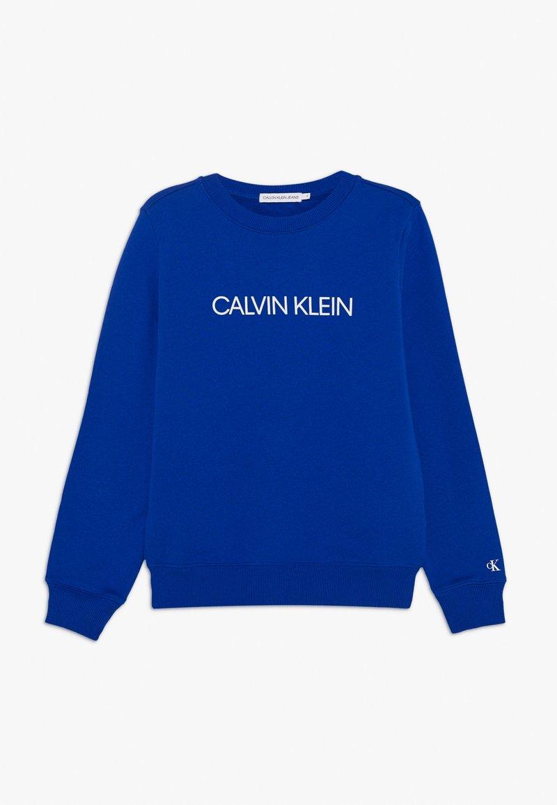Calvin Klein Jeans - INSTITUTIONAL LOGO  - Sweater - blue