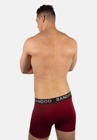 Bandoo Underwear - 2 PACK - Boxer shorts - red, - 1