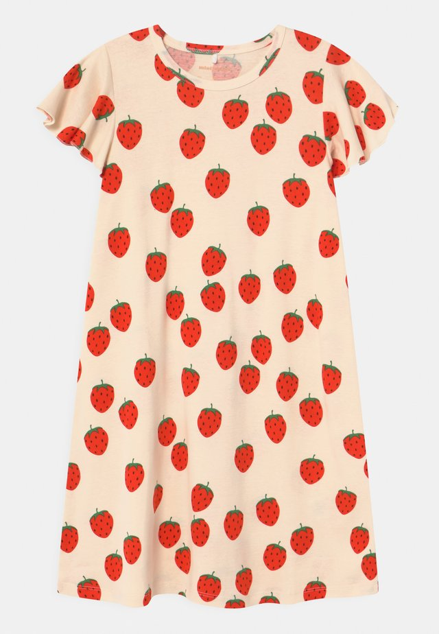 STRAWBERRY WING - Jersey dress - offwhite