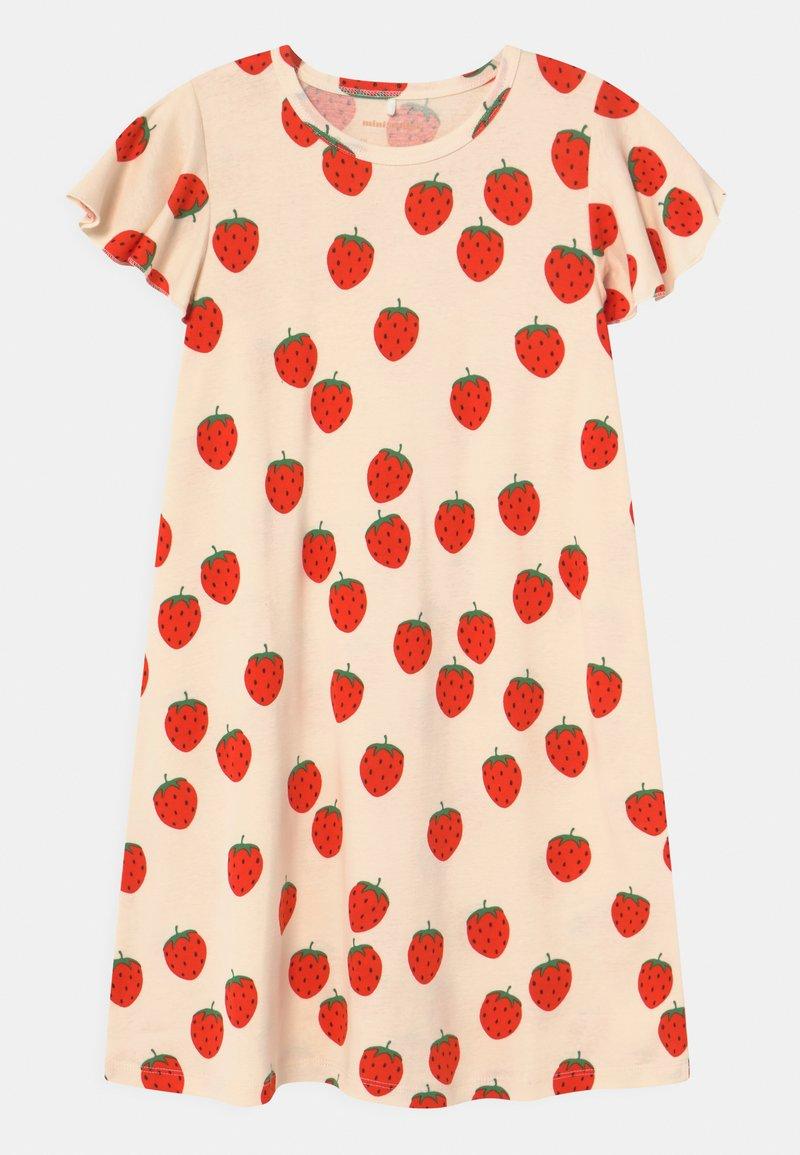 Mini Rodini - STRAWBERRY WING - Jersey dress - offwhite
