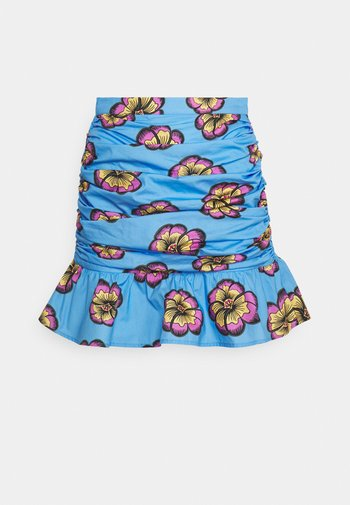 HALEY SKIRT - Mini skirt - blue