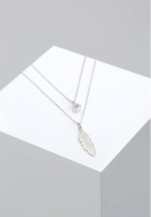 GLASS CRYSTAL - Necklace - silver-coloured