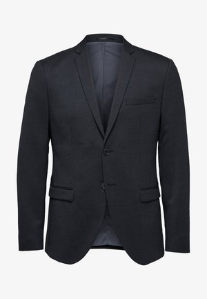 Suit jacket - dark grey melange