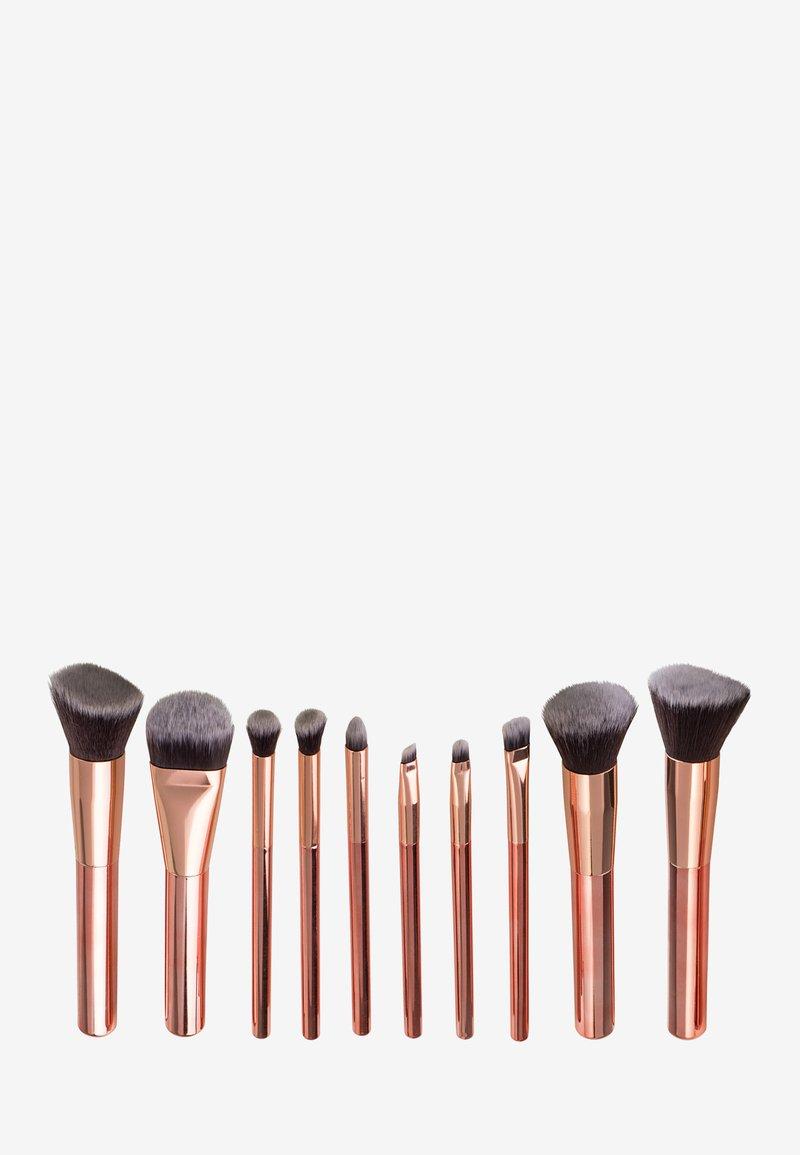 ZOË AYLA - 10 PIECE LUXURIOUS MAKE-UP BRUSH SET - Makeup brush - rose gold