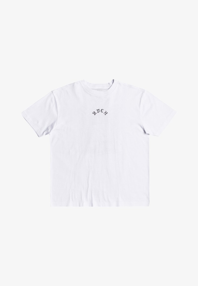 RVCA - Print T-shirt - white