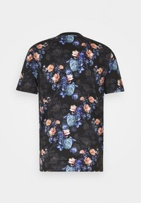 Jack & Jones PREMIUM - JPRBLAVINCENT TEE CREW NECK - T-shirt med print - black - 1