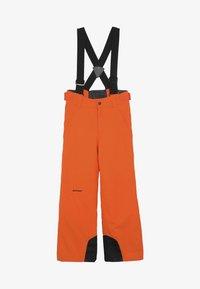 Ziener - ANDO JUNIOR - Snow pants - bright orange - 4