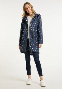 Schmuddelwedda - Waterproof jacket - marine dots aop - 1