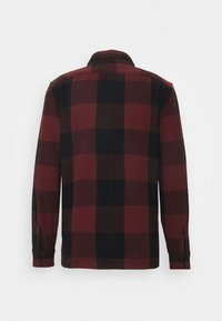 Abercrombie & Fitch - PLAID - Summer jacket - dark red - 1