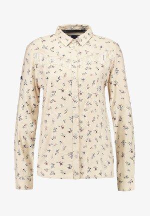 JOLENE WESTERN - Button-down blouse - pink print