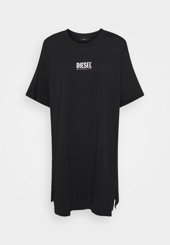 D-BOWI-SMALLLOGO - Jersey dress - black