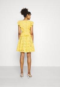Lace & Beads - RORI DRESS - Day dress - yellow - 2