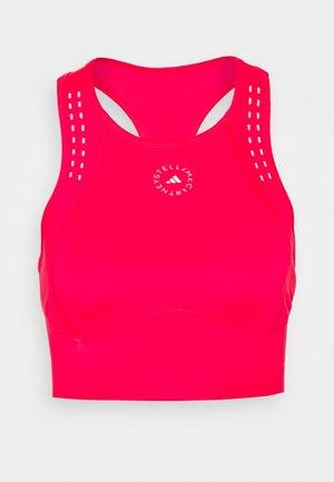 TRUEPUR CROP - Top - active pink