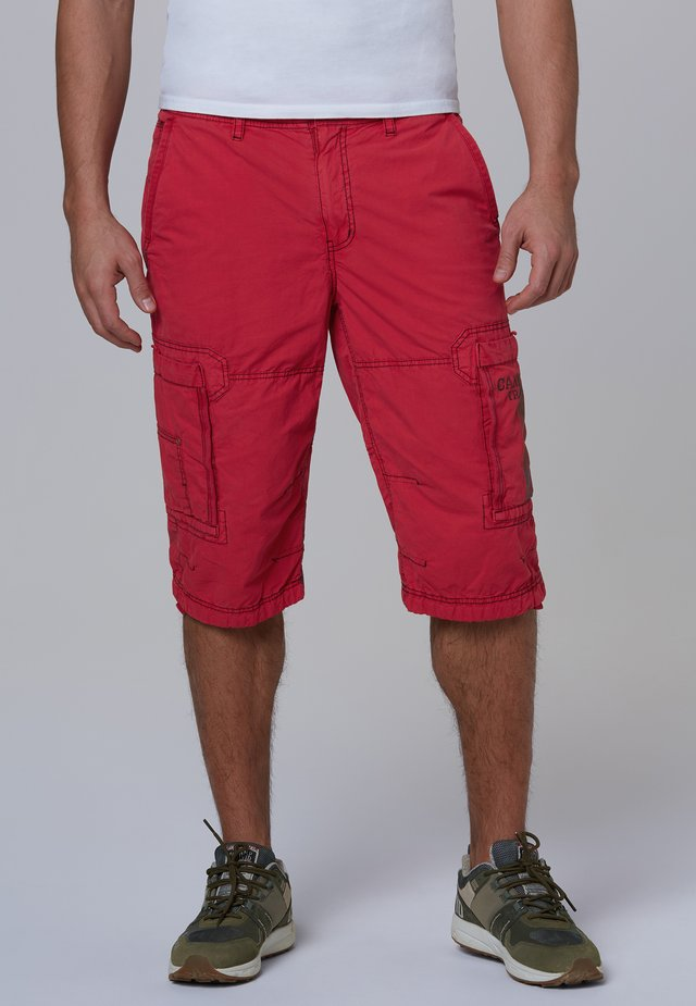 MIT TONIGEN TAPES - Shorts - red