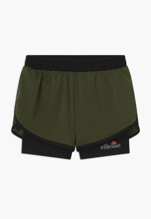 ARINO 2-IN-1 - Sports shorts - black/khaki