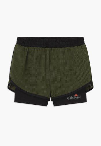 ARINO 2-IN-1 - Pantaloncini sportivi - black/khaki