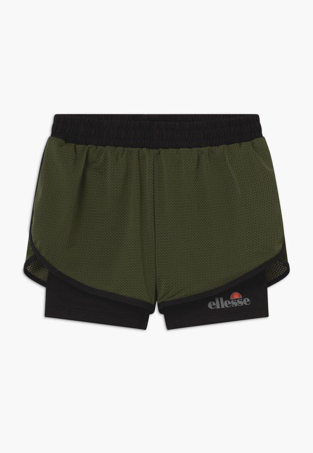 ARINO 2-IN-1 - Short de sport - black/khaki