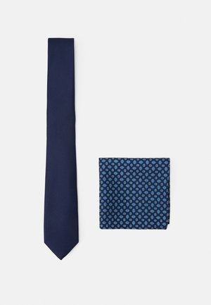 SET - Pocket square - dark blue