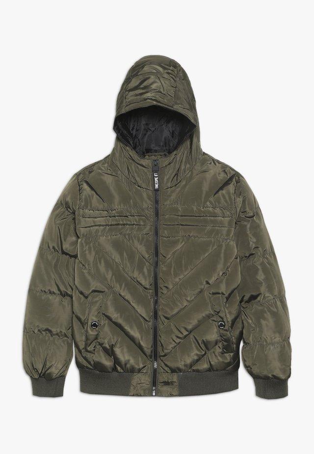 TEEN BOYS JACKET - Winter jacket - kaki