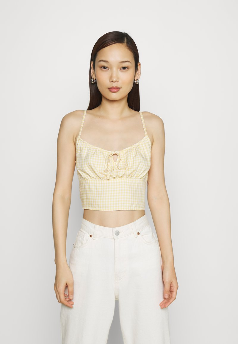Hollister Co. - TIE BARE - Top - yellow