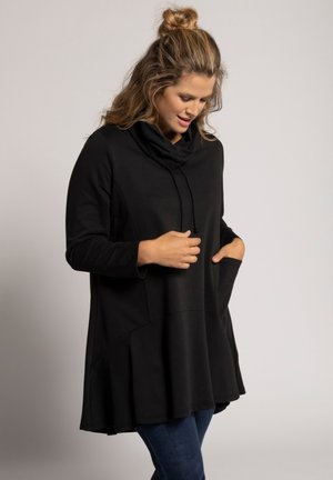 Sweatshirt - zwart