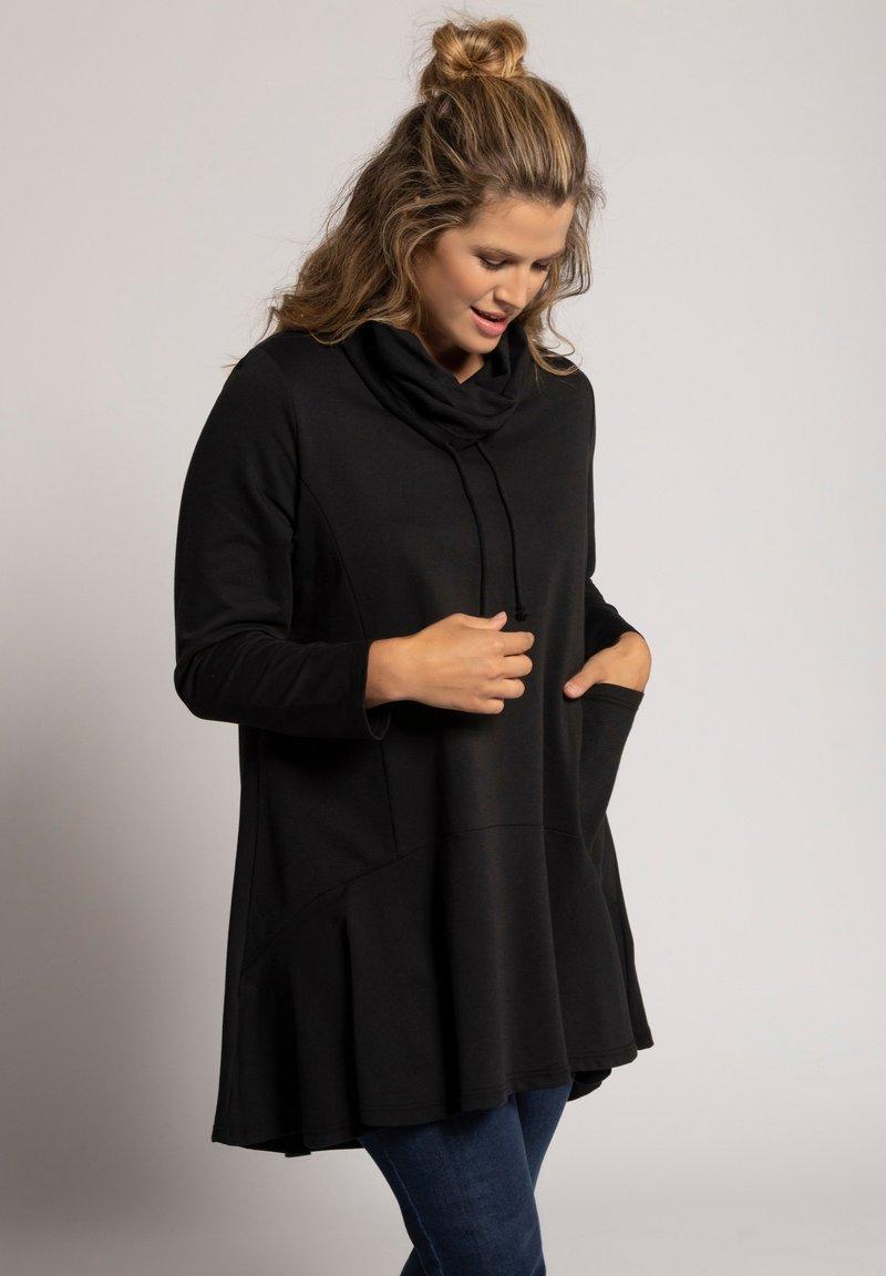 Ulla Popken - Sweatshirt - zwart