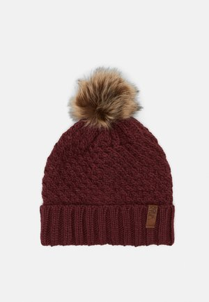 BLIZZARD BEANIE - Mütze - oxblood red