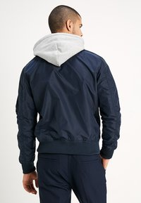 Alpha Industries - HOOD - Bomber Jacket - rep blue - 2