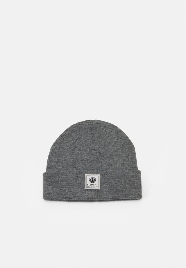 DUSK BEANIE BOY - Čepice - grey heather
