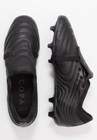 adidas Performance - COPA GLORO 20.2 FG - Moulded stud football boots - core black/dough solid grey - 1