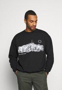 Topman - SEOUL  - Sweatshirt - black - 0