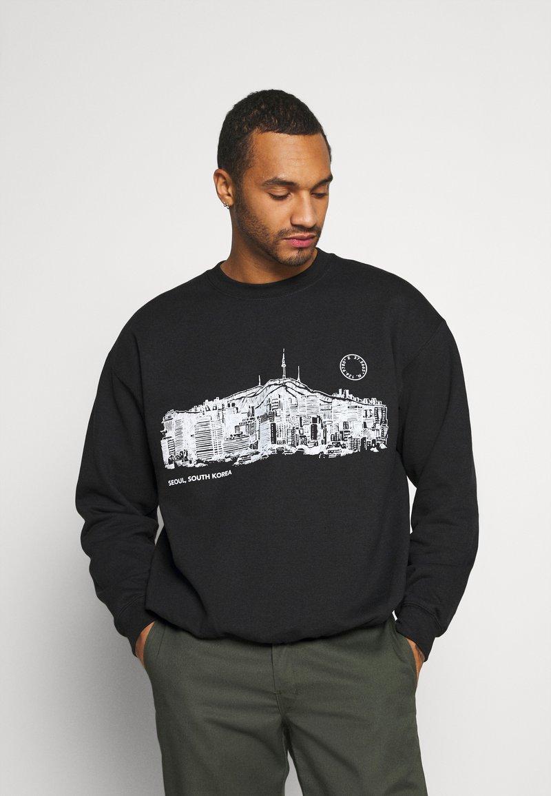 Topman - SEOUL  - Sweatshirt - black