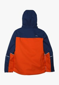 Kjus - BOYS SPEED READER JACKET - Ski jacket - orange/south blue - 1