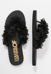 Colors of California - T-bar sandals - black - 3