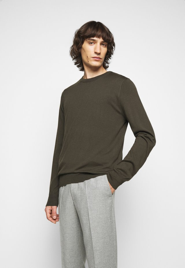 Sweter - pine green
