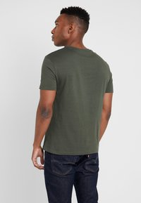 Pier One - 5 PACK - T-shirt basic - dark blue/grey/khaki - 3