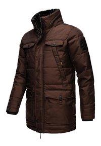 Navahoo - LUAAN - Winter coat - brown melange - 5