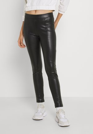 ONLTEA MARIA - Leggings - Trousers - black