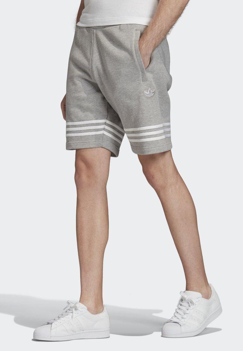 adidas Originals - OUTLINE SHORTS - Shorts - grey
