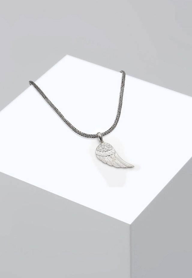 FLÜGEL - Collana - silver-coloured